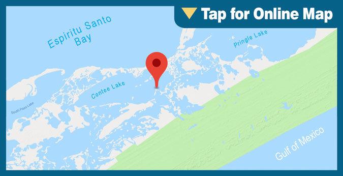 Espiritu Santo Bay: HOTSPOT: Contee Lake