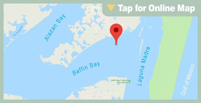 Baffin Bay HOTSPOT: Tide Gauge Bar
