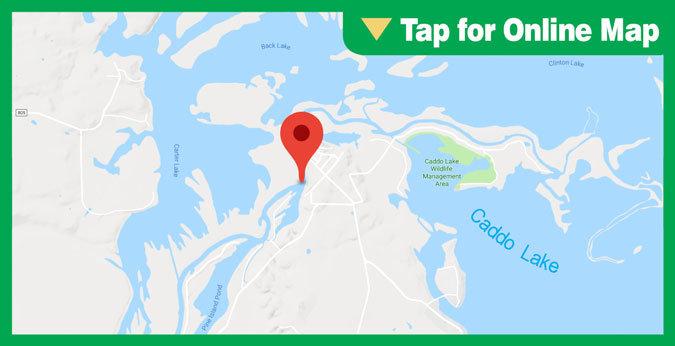 Caddo Lake HOTSPOT: Big Cypress River