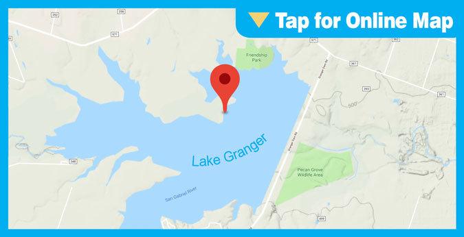 Granger Lake HOTSPOT: Main Lake