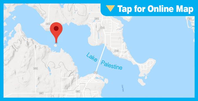 Lake Palestine HOTSPOT: Flat Creek