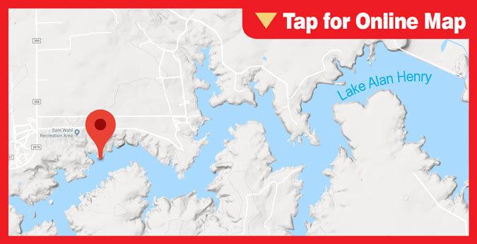 Lake Alan Henry HOTSPOT: Cat Hollow