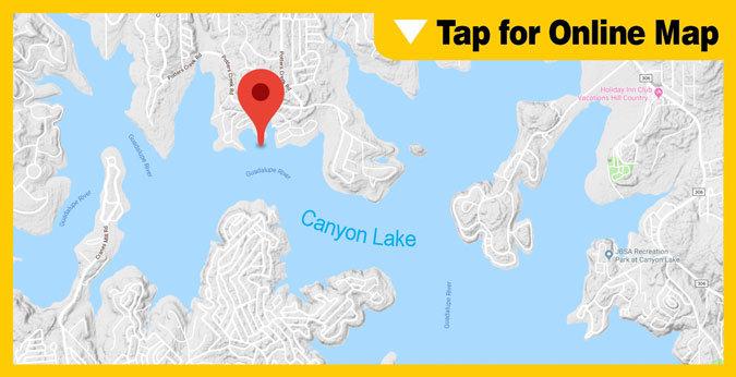 Canyon Lake HOTSPOT: Potters Creek Park