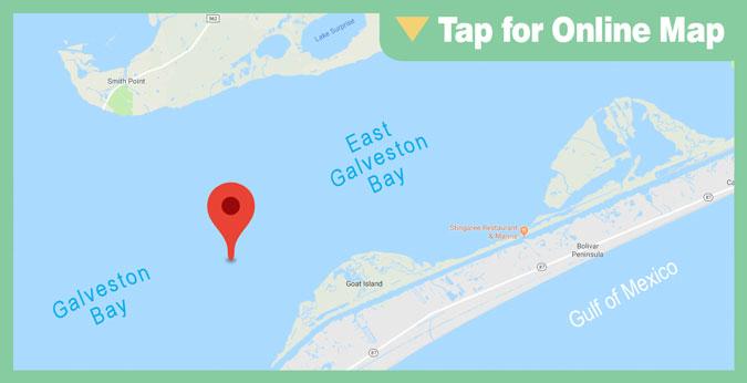 Galveston East Bay: Hanna's Reef