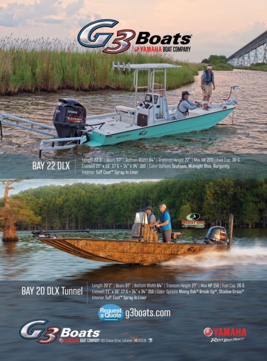Yamaha G3 Boats