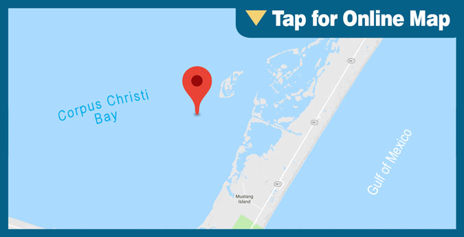 Corpus Christi Bay: Wells
