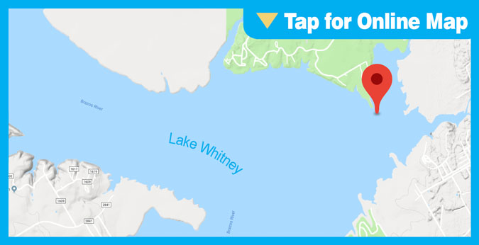 Lake Whitney: Whitney Hump & Striper Point