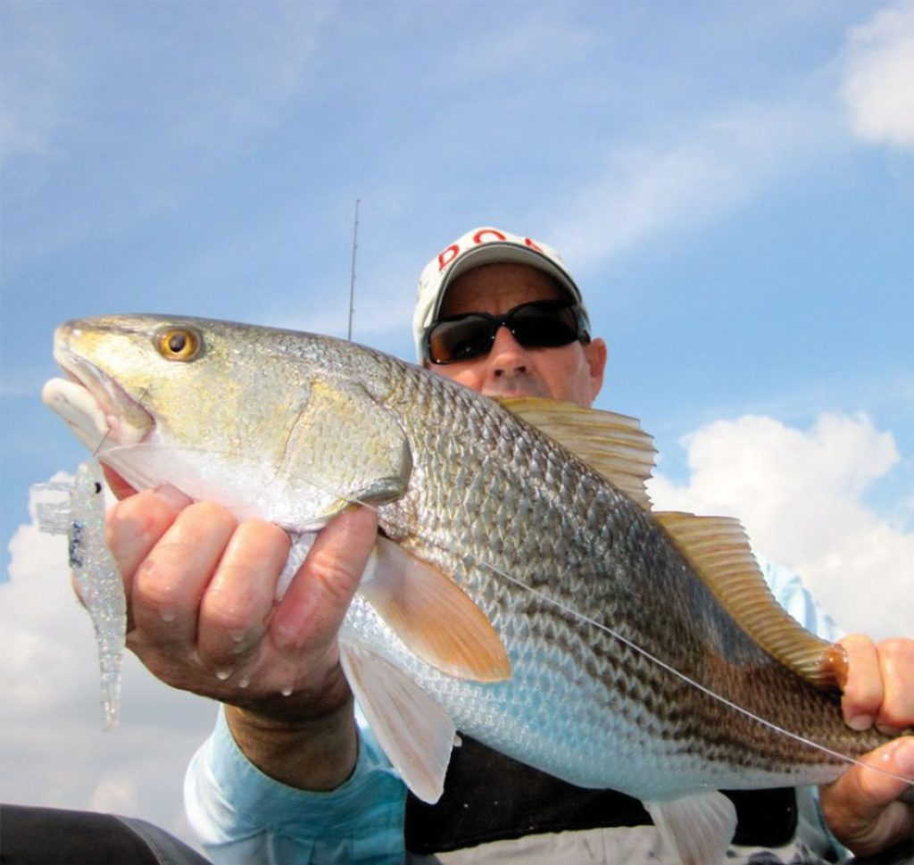 """""""Big baits, big fish"""" is usually the ticket, but sometimes even big fish eat small."""