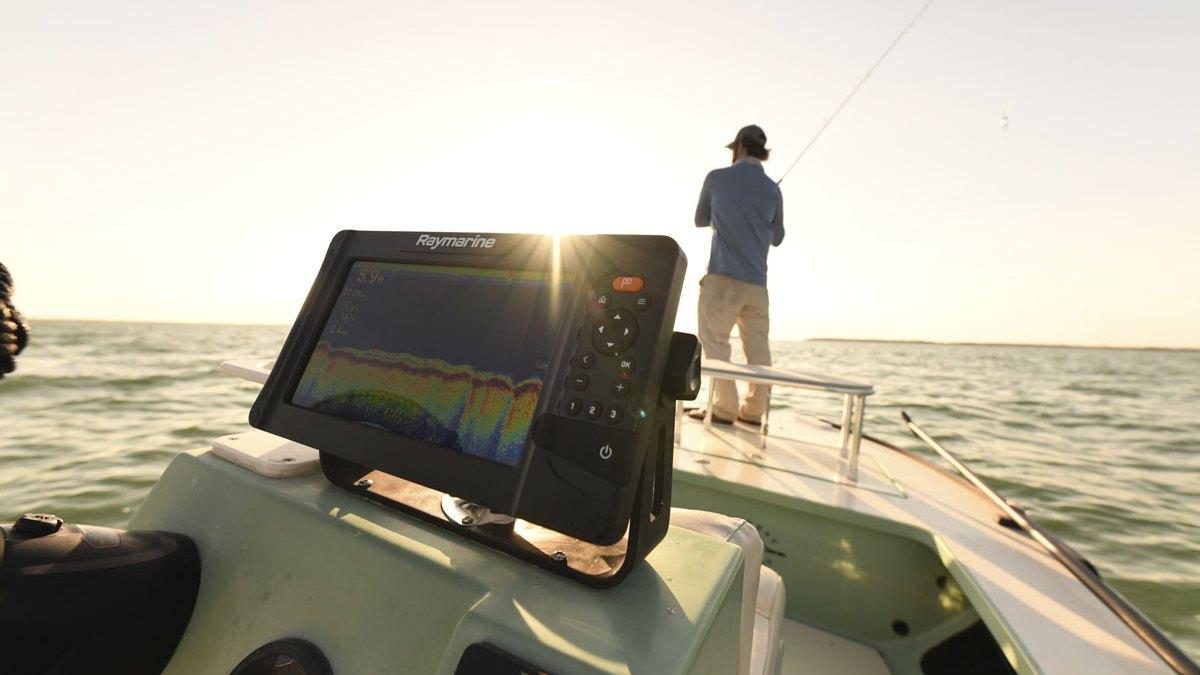 raymarine element fishfinder
