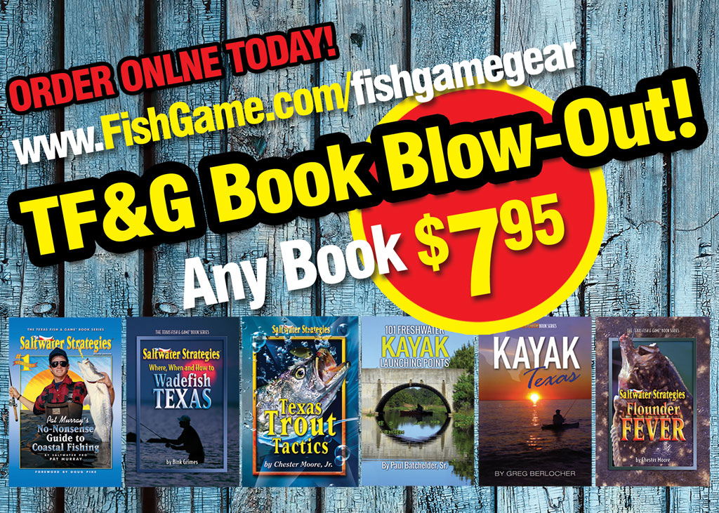 TF&G Gear Book Blowout