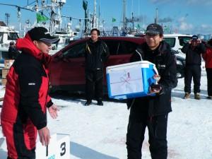 第7回アングル探見丸マス釣り大会