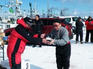 第7回アングル探見丸マス釣り大会 シャーププラズマクラスターイオン発生器