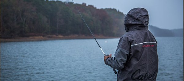 How to make the most of a rainy day fishing by boys 39 life for Bass fishing in the rain