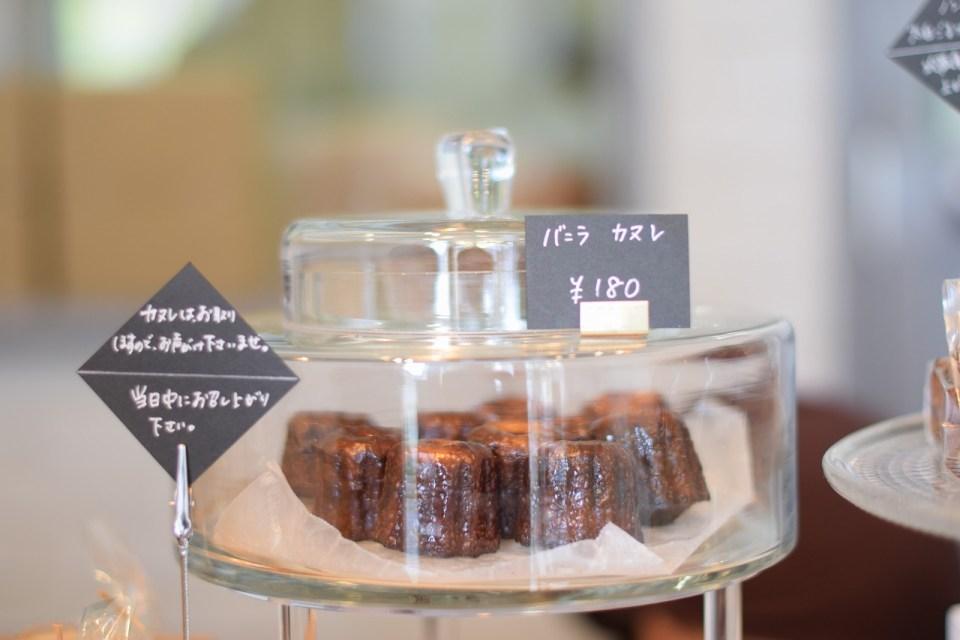 名古屋の焼き菓子屋さん「プラリネ」のカヌレ