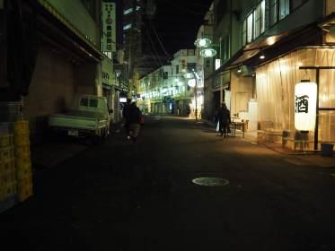 OLYMPUS PEN-Fで夜の名古屋をカメラ散歩