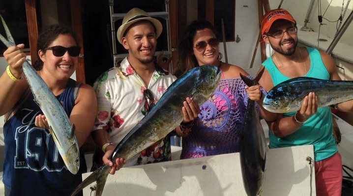 Fishing charter holiday