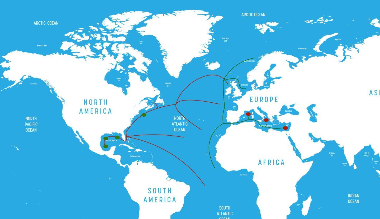 Atlantic Tuna Migration and Spawning