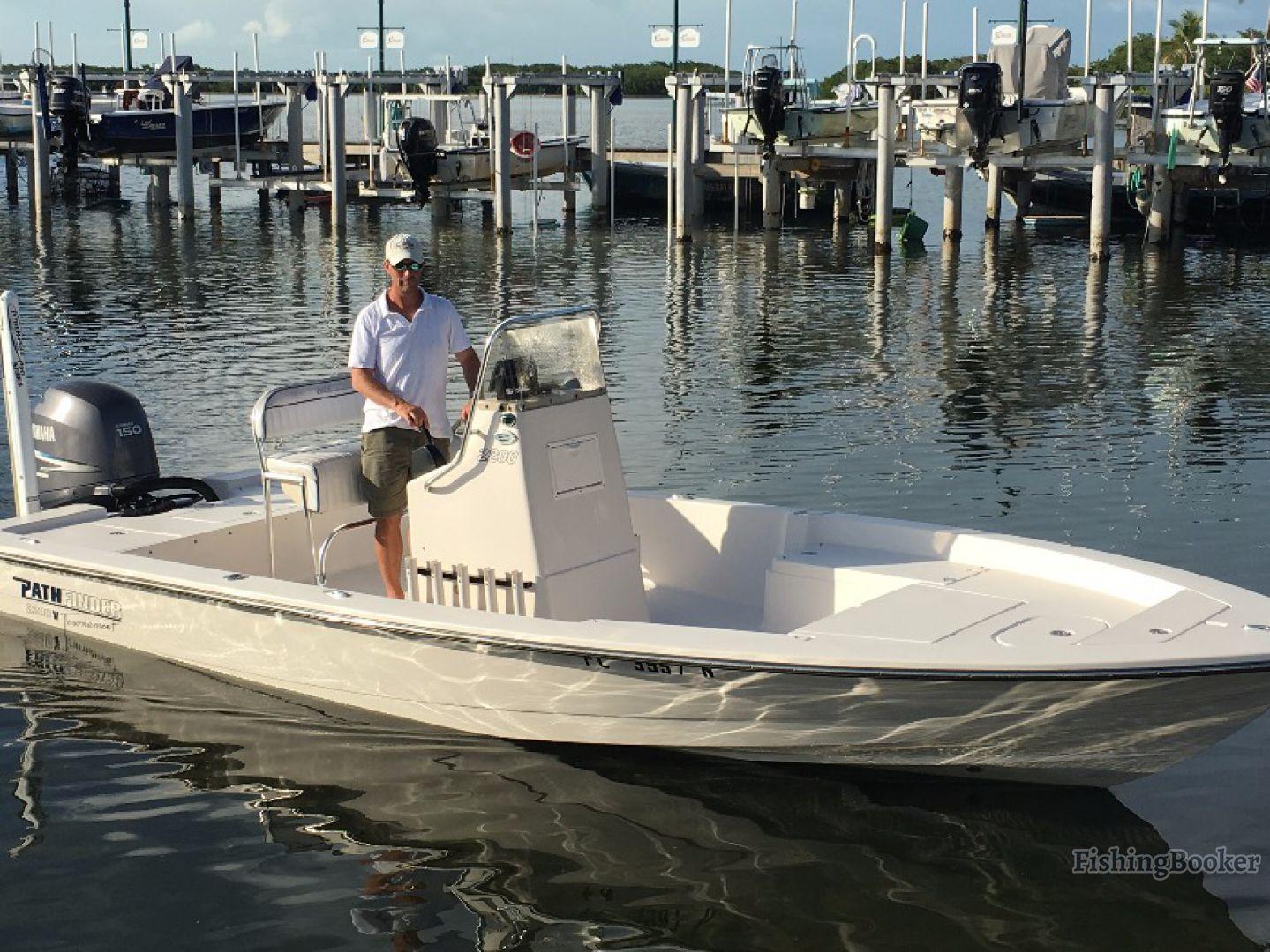 a bay boat