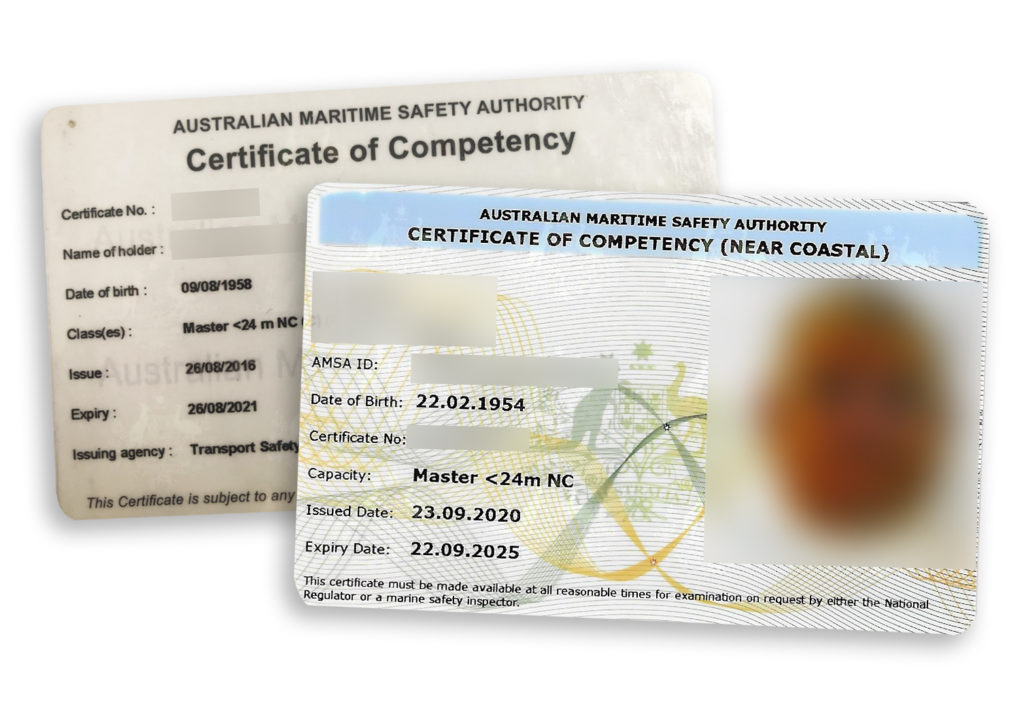 Certificate of Competency1