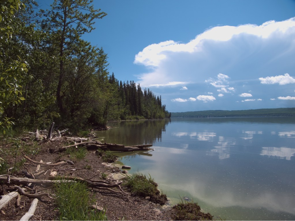 Charlie Lake, one of the favorire Alaskan Highway fishing detours