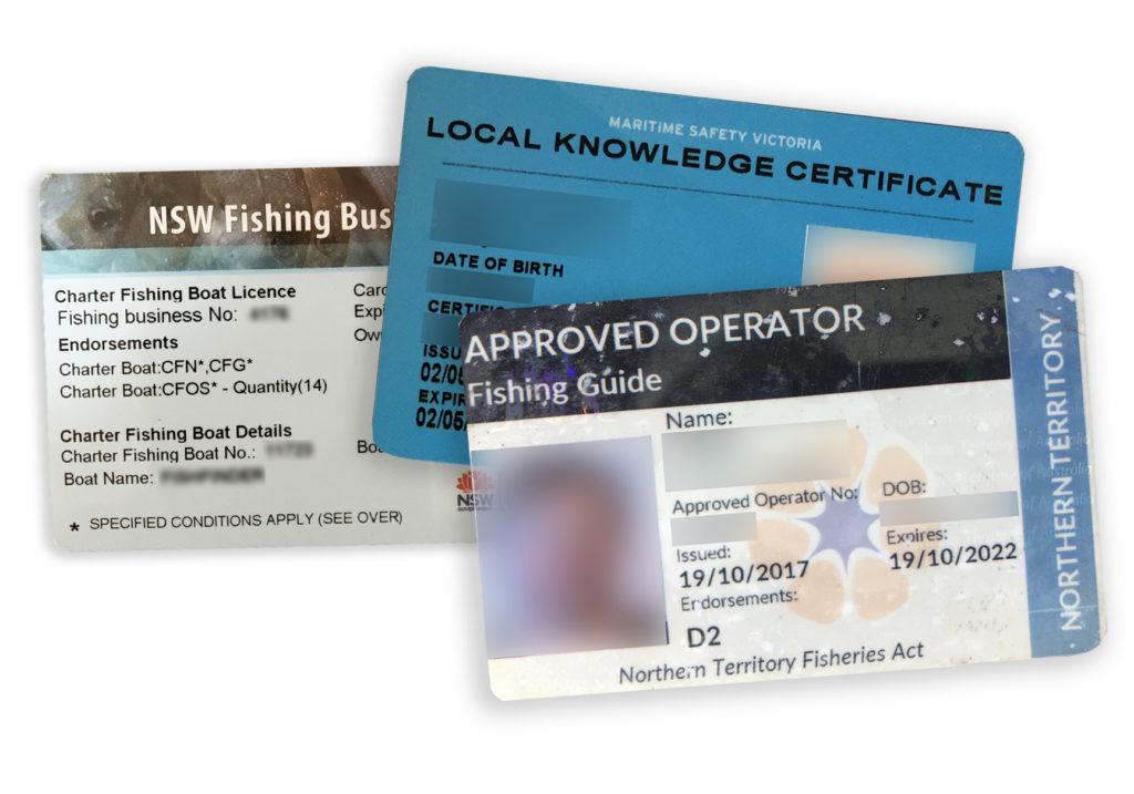 Charter Fishing Licenses