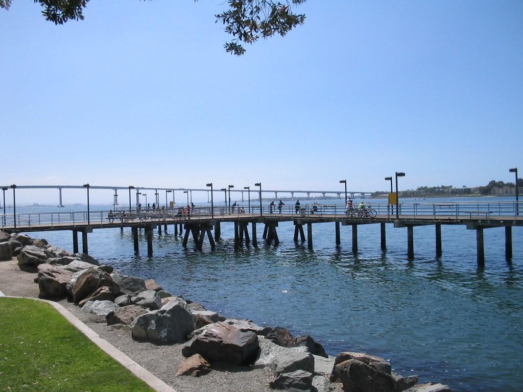 Embarcadero Park Pier, San Diego