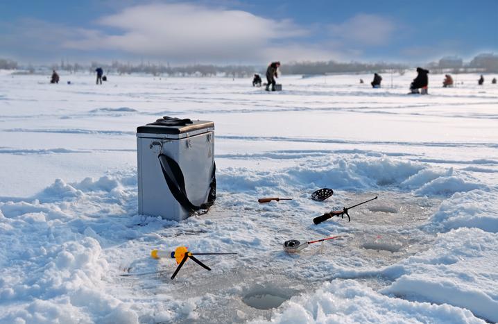 Ice Fishing Setup