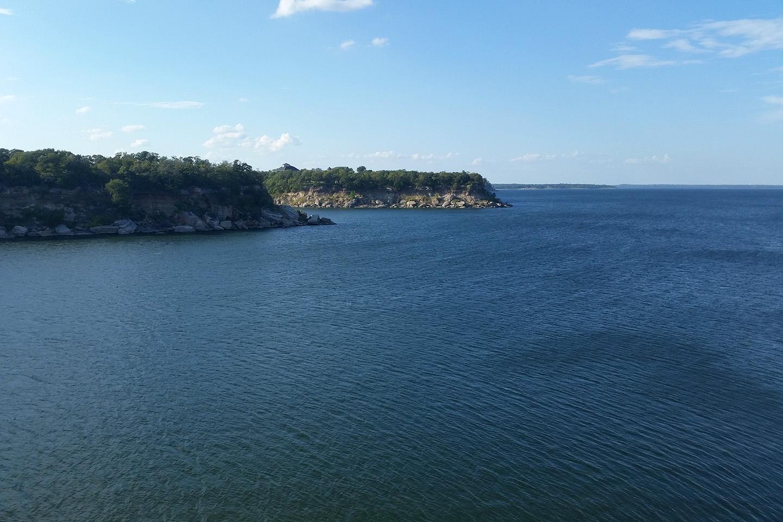 A view across Lake Texoma