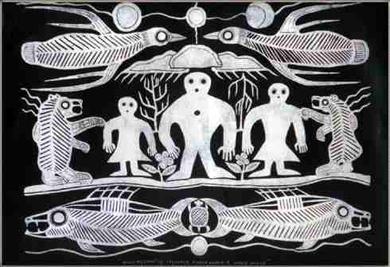 Ojibwe cosmos CC BY-SA 3.0