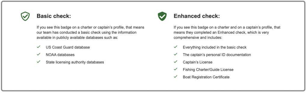 Benefits of enhanced check vs basic check