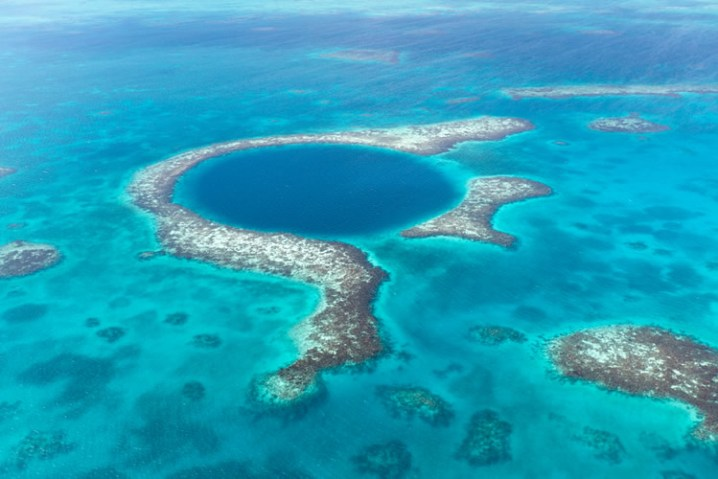 The Famous Belize Blue Hole