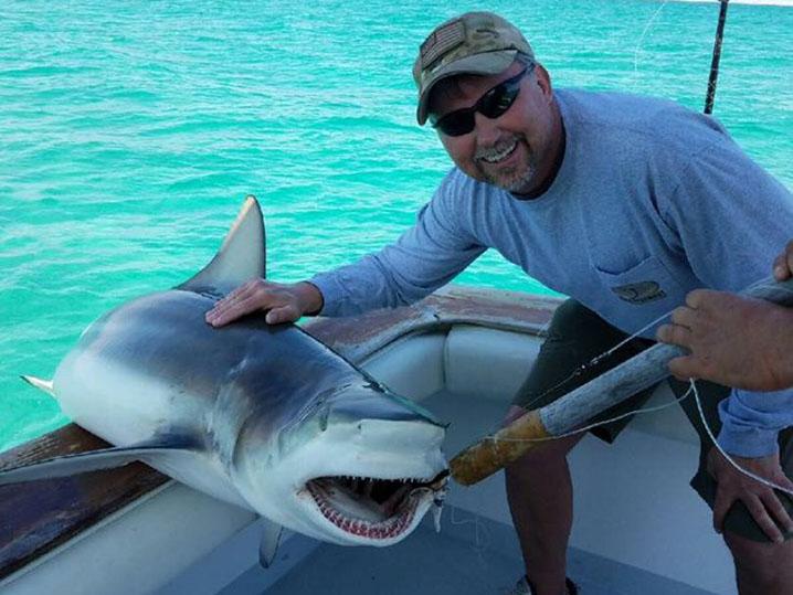 destin rodeo shark saturday bull shark