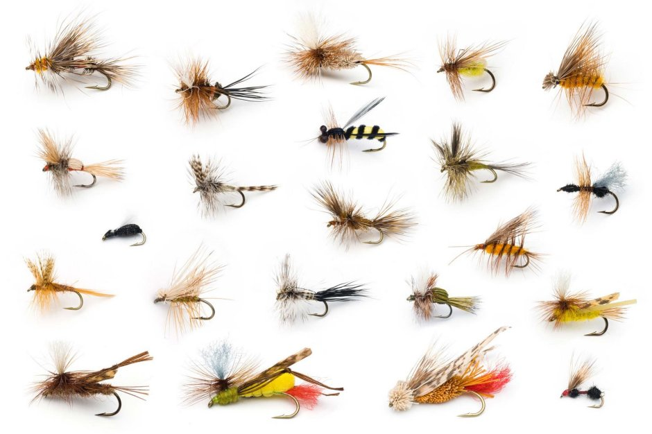 Saltwater fly fishing ties