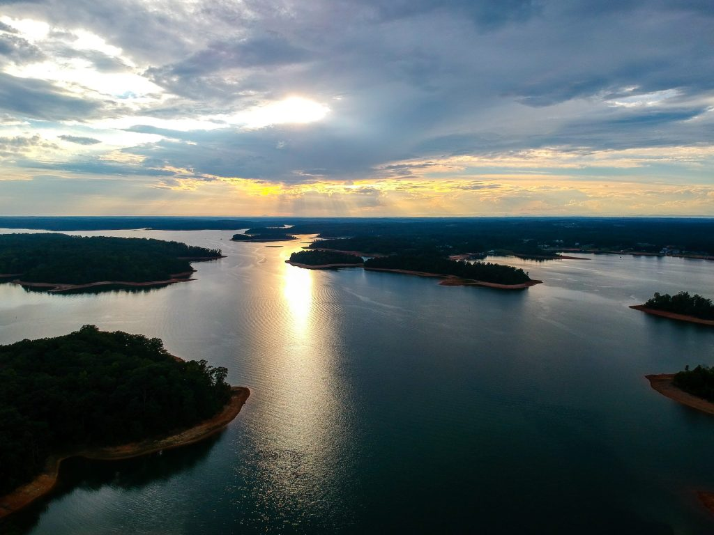 Lake Hartwell, winter fishing destinations