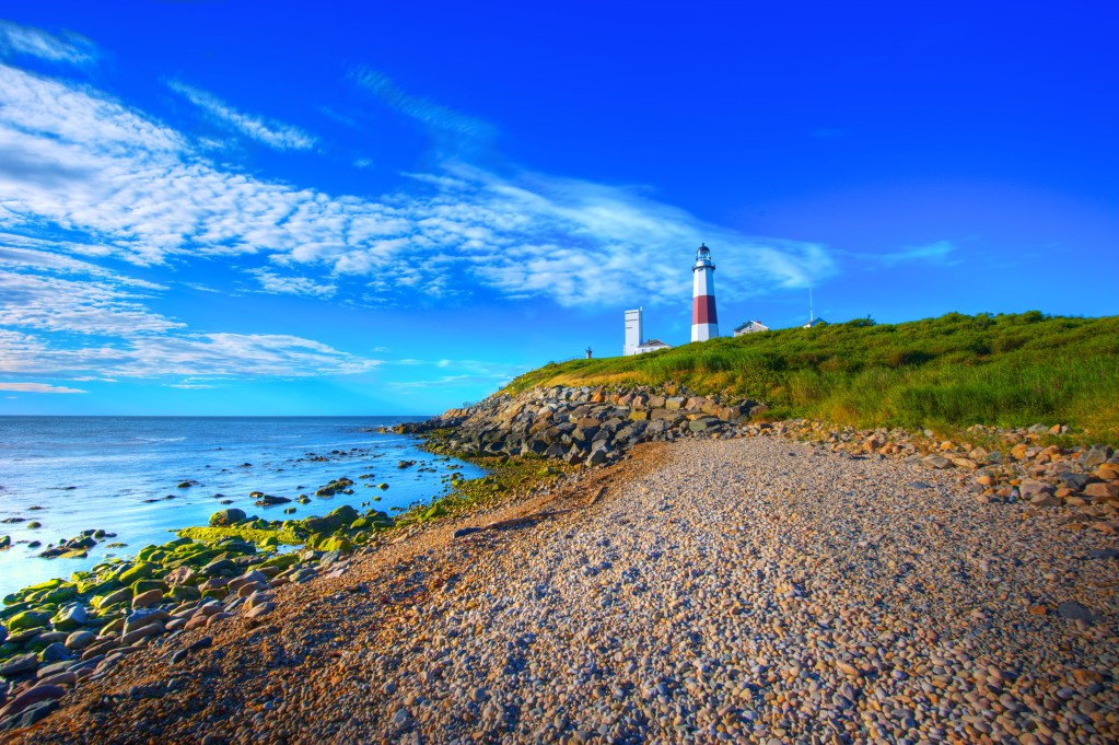 Picture of Montauk, LI's lighthouse.