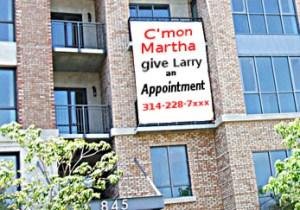 C'Mon Martha Banner