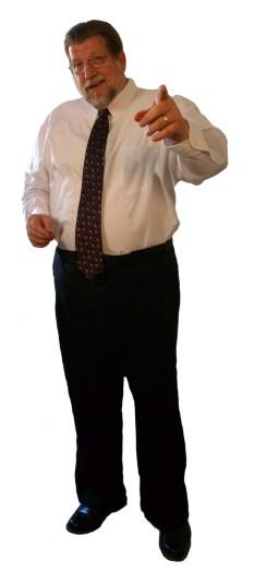 Chuck McKay standing