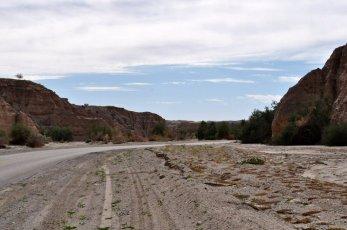 Traveling down Box Canyon Road.