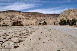 Looking down Box Canyon Road.