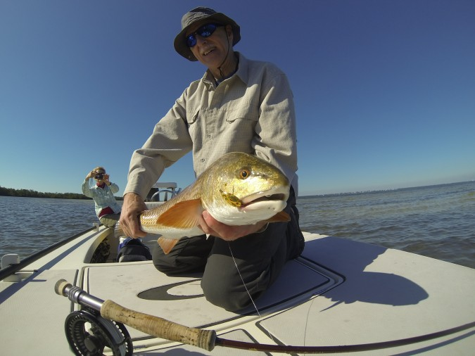 Sanibel Island Fly Fishing for Redfish