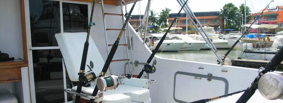 Sport fishing on Choke Dee