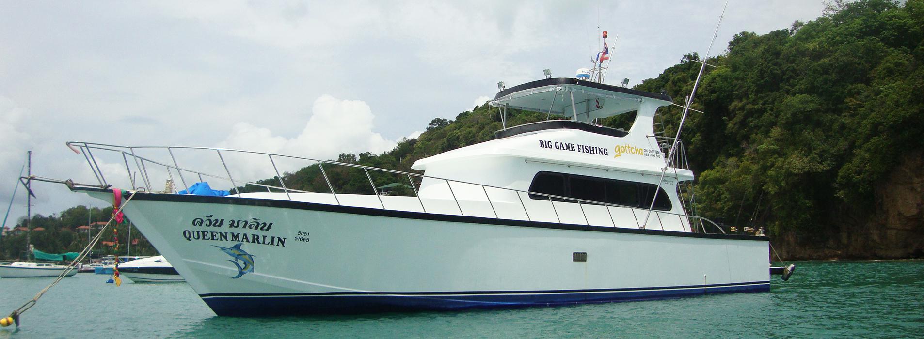 Queen Marlin Phuket Fishing Charter