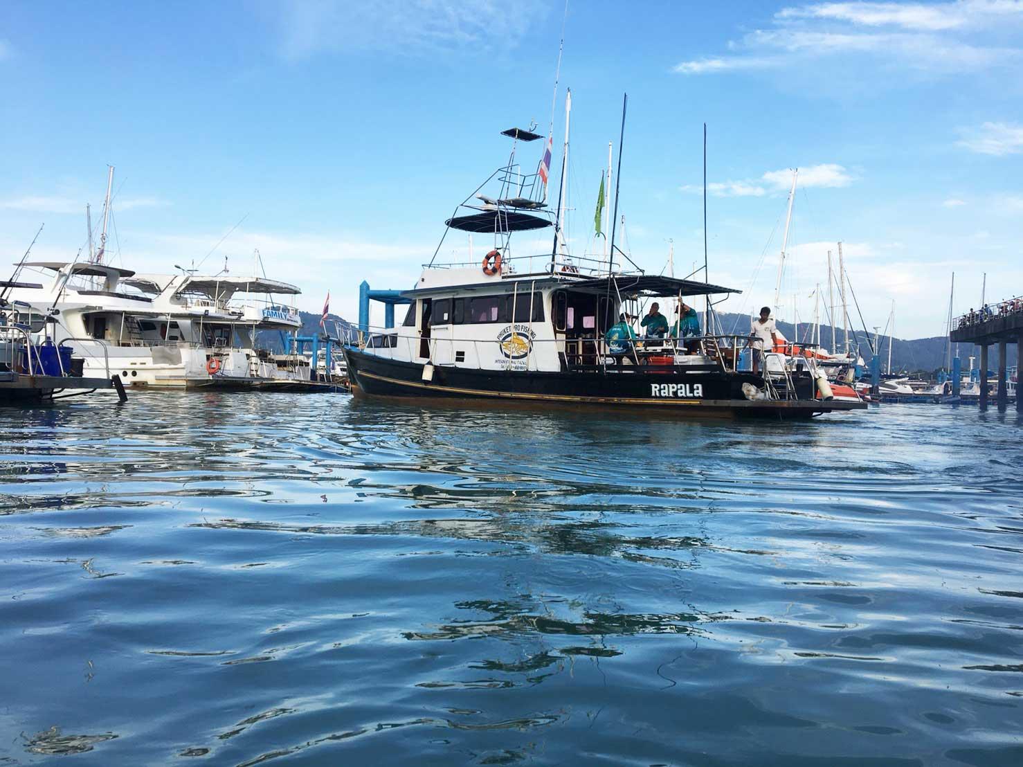 Pro fishing tour