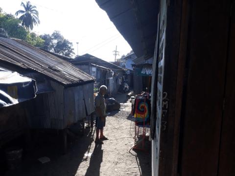 Sea Gypsy Village - Typical living conditions