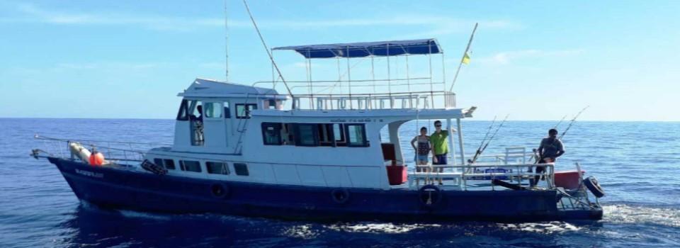 Mena 3 fishing charters, Phuket