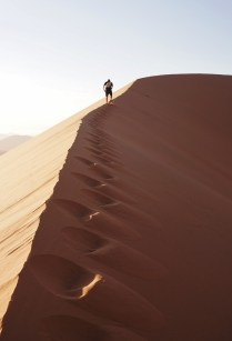 The irreverently named Big Daddy, one of the highest dunes in the world