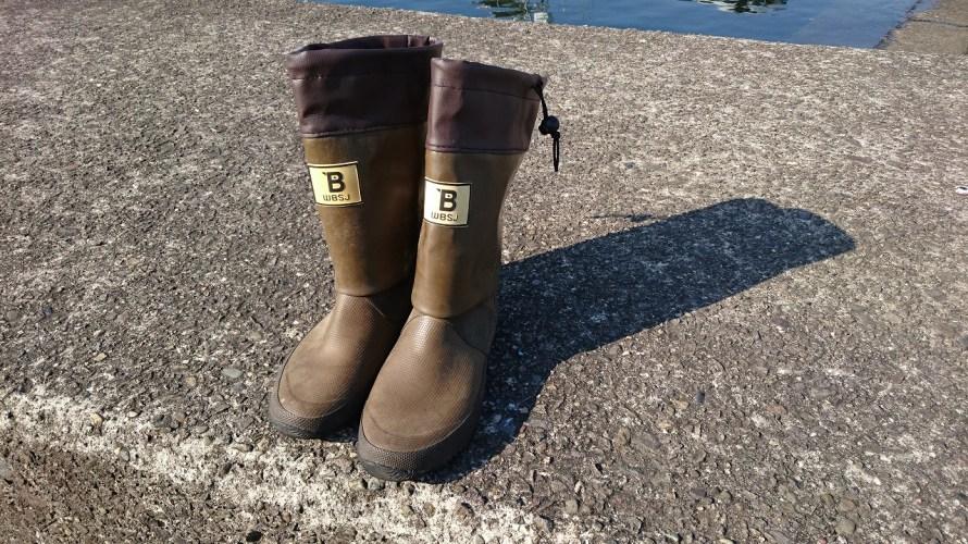 【おすすめ】おかっぱりの釣り用に購入した日本野鳥の会の長靴がGOOD