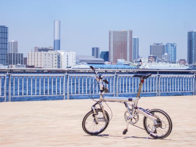 異動になったので移動の足にミニベロ自転車を買いたい。