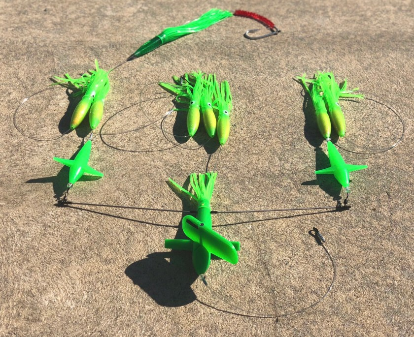 Chatter Lures Side Tracker Spreader Bars are innovative fish killers.