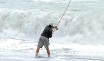 Surfcasting Tips for Beginners New Zealand Kaikoura surf angler.